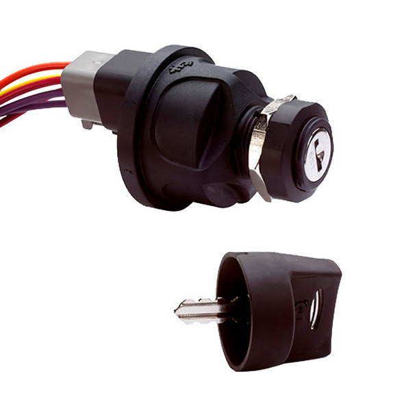 Cole Hersee 3 Position Sealed Ignition Switch