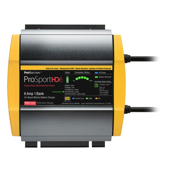 ProMariner ProSportHD 6 Global Gen 4 - 6 Amp - 1 Bank Battery Charger