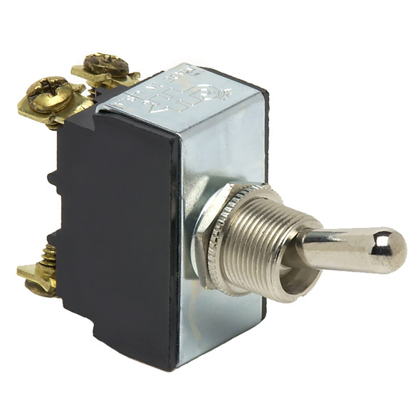 Cole Hersee Heavy Duty Toggle Switch DPST On-Off 4-Screw