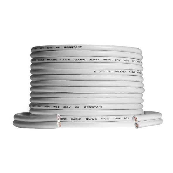 FUSION Speaker Wire - 12 AWG 50' (15.24M) Roll