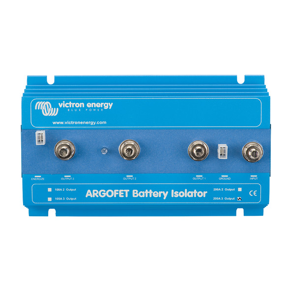 Victron Argo FET Battery Isolator 200-3 3 Batteries - 200AMP