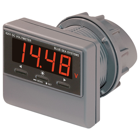 Blue Sea 8251 DC Digital Voltmeter w/Alarm