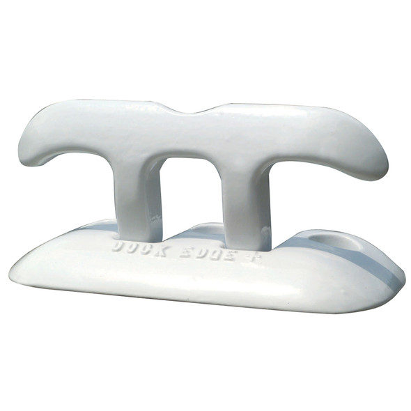 "Dock Edge Flip Up Dock Cleat 8"" - White"