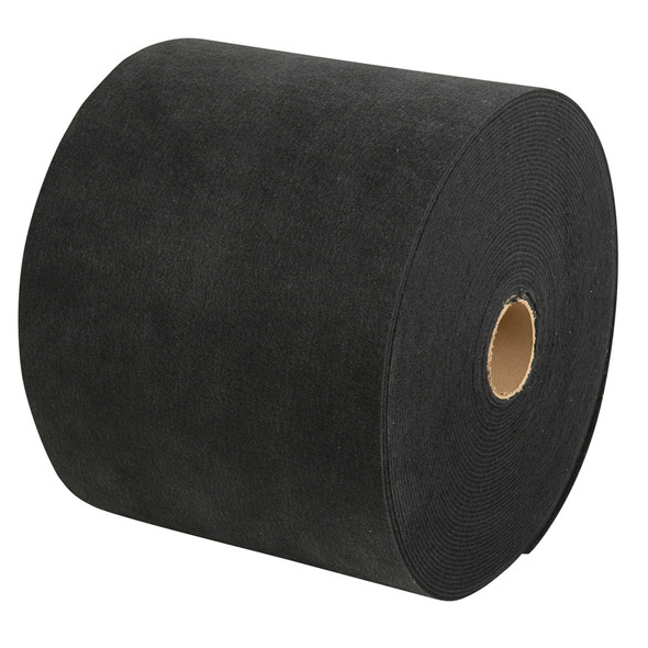"""C.E. Smith Carpet Roll - Black - 18""""W x 18'L"""