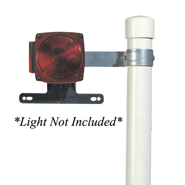 C.E. Smith Tail Lamp Brackets f/Post Style Guide-Ons