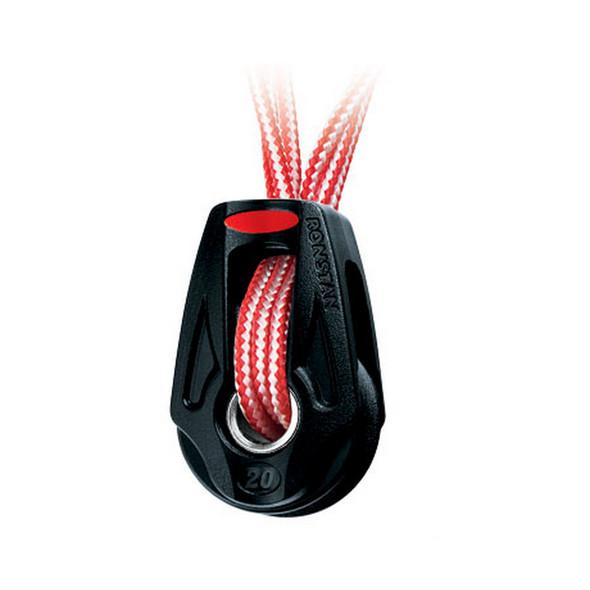 Ronstan Series 20 Ball Bearing Orbit Block - Single - Dyneema Lashing - Becket Option