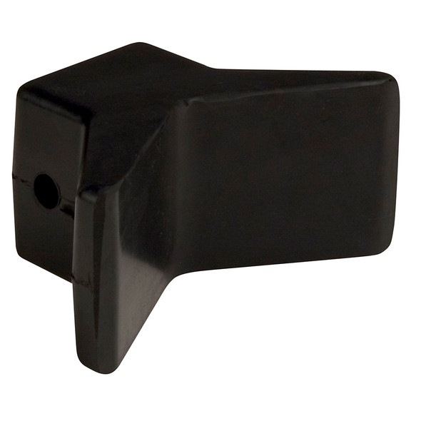 "C.E. Smith Bow Y-Stop - 3"" x 3"" - Black Natural Rubber"