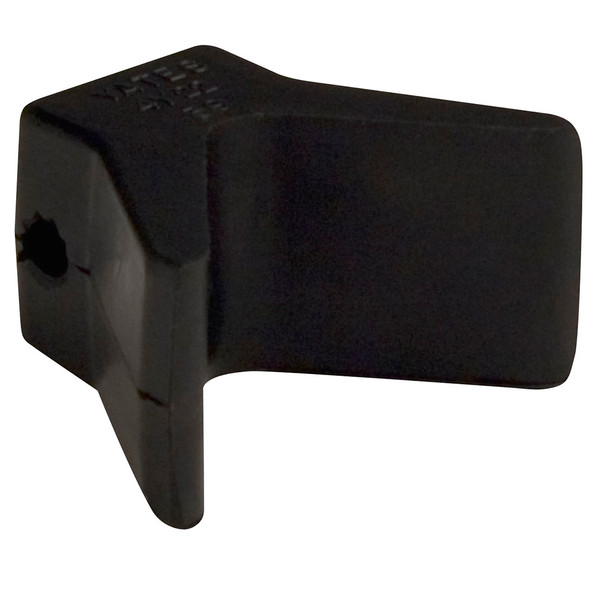 "C.E. Smith Bow Y-Stop - 2"" x 2"" - Black Natural Rubber"