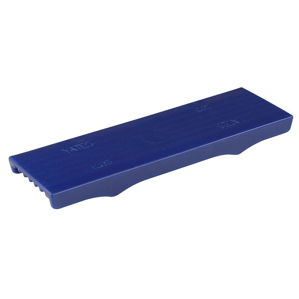 "C.E.Smith Flex Keel Pad - Full Cap Style - 12"" x 3"" - Blue"