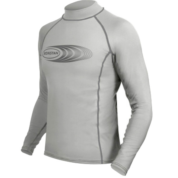 Ronstan Long Sleeve Rash Guard Top - UPF50+ - Ice Grey - XS