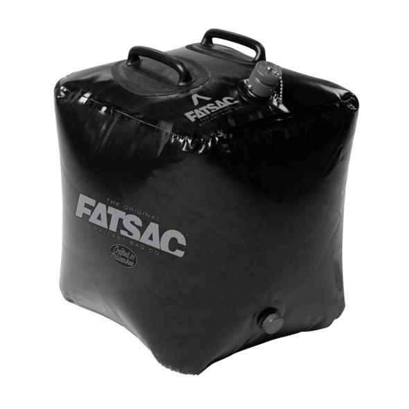 FATSAC Brick Fat Sac Ballast Bag - 155lbs - Black