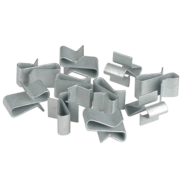 "C.E. Smith Trailer Frame Clips - Zinc - 3/8"" Wide - 10-Pack"