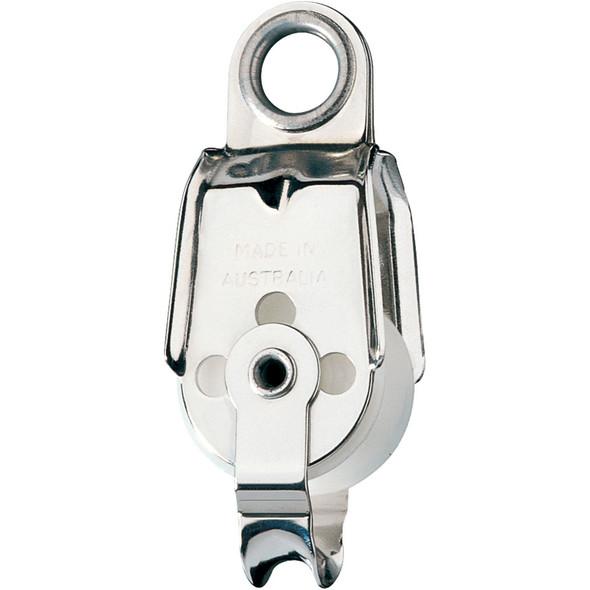 Ronstan Series 30 Utility Block - Single, Becket, Ferrule Eye Head