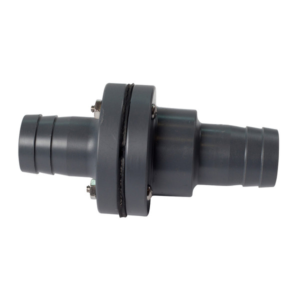 "FATSAC 1"" Barbed In-Line Check Valve w/O-Rings f/Auto Ballast System"