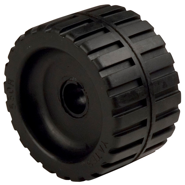 "C.E. Smith Ribbed Wobble Roller 5-7/8""ID w/Bushing Black"