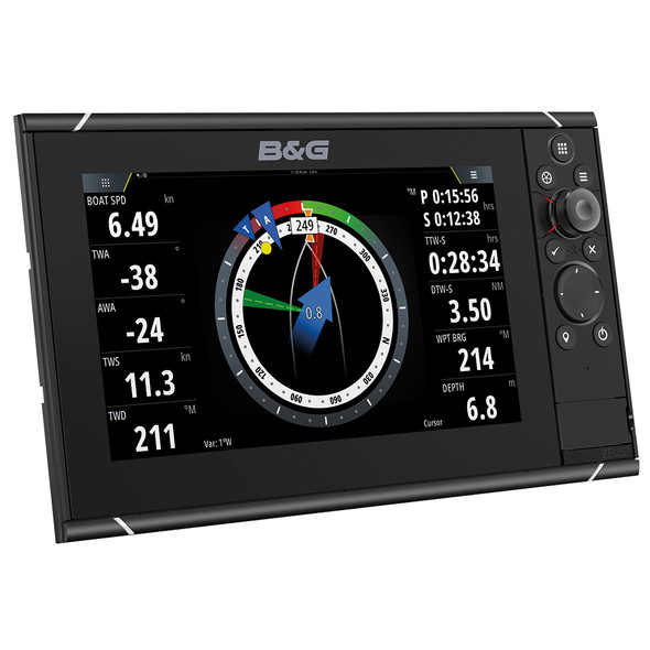 "B 3S 12 - 12"" Multi-Function Sailing Display"