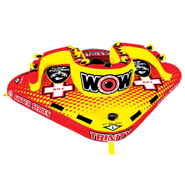 WOW Watersports Trinity 4P Sister Towable - 4 Person