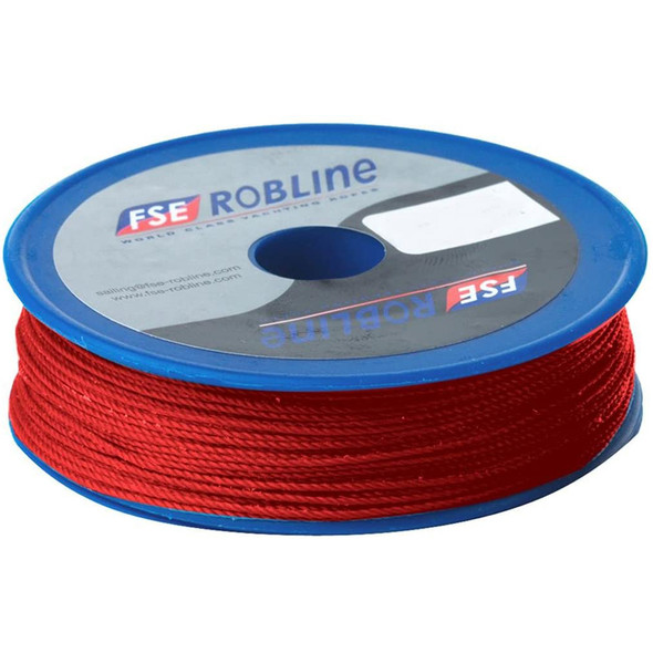 Robline Waxed Tackle Yarn - 0.8mm x 40M - Red