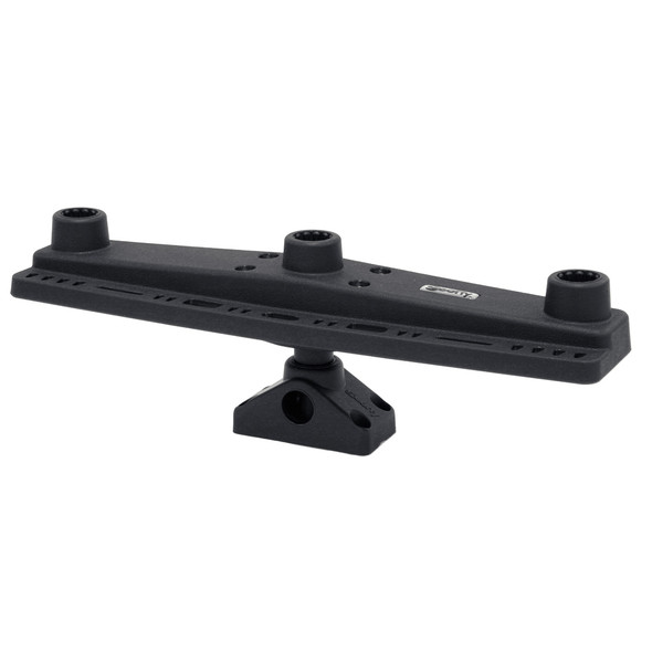 Scotty 257 Triple Rod Holder Mount with 241 Side / Deck Mount