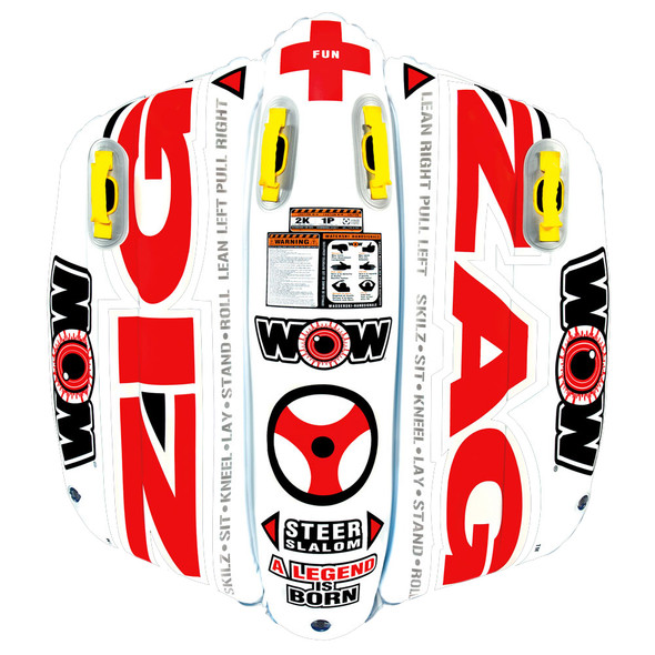 WOW Watersports Zig Zag Towable - 1 Person