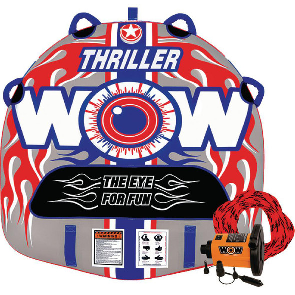 WOW Watersports Thriller Starter Kit Towable - 1 Person