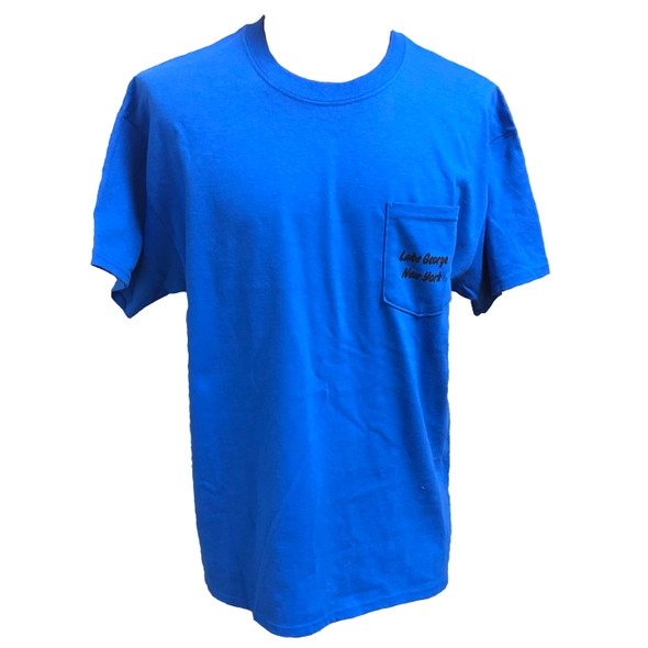 FISH307.com Short Sleeve Pocket T-Shirts - Blue or Gray