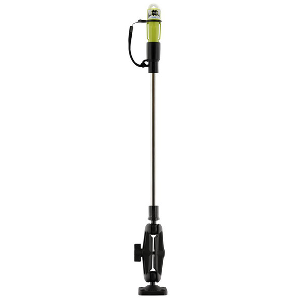Scotty 838 LED Sea-Light w/Fold Down Pole & Ball Mount