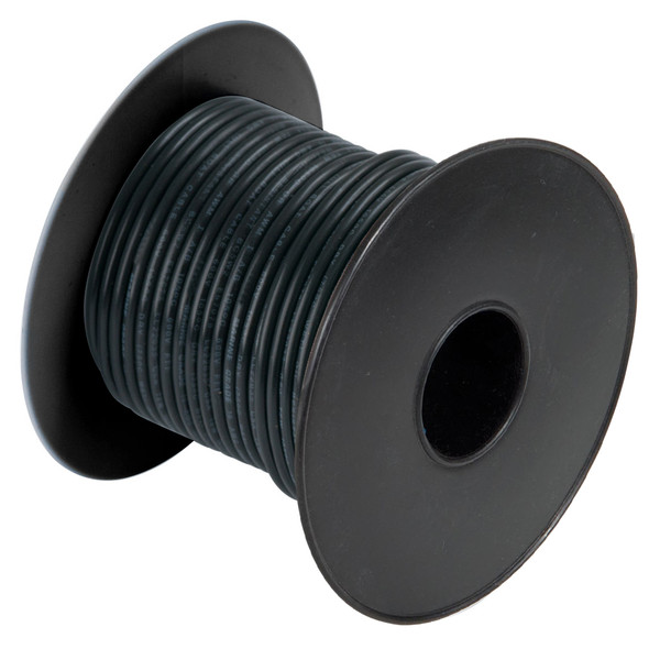 Cobra Wire 18 Gauge Flexible Marine Wire - Black - 250'