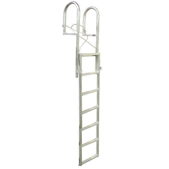 Dock Edge SLIDE-UP Aluminum 7-Step Dock Ladder