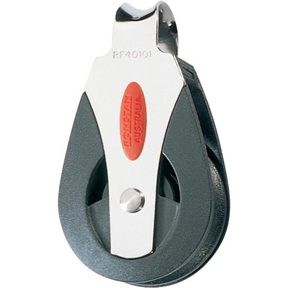 Ronstan Series 40 Ball Bearing Block - Single - Loop Top