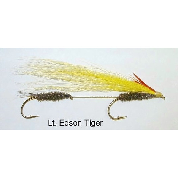 Streamer Fly -  Light Edson Tiger