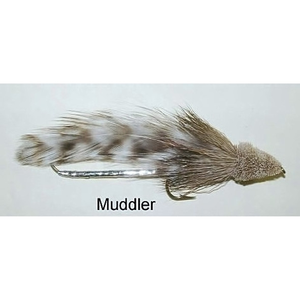 Tandem Streamer Fly -  Muddler