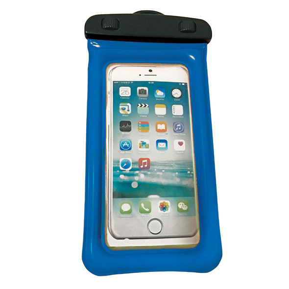 """WOW Watersports H2O Proof Phone Holder - Blue 4"""" x 8"""""""