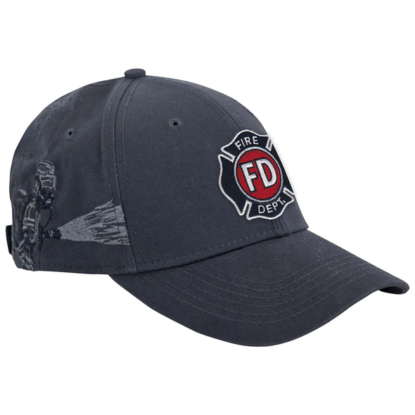 Dri Duck Firefighter Shield Logo Cap