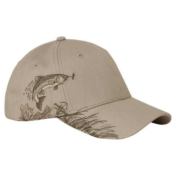 Dri Duck Trout Wildlife Cap