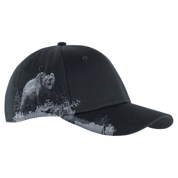 Dri Duck Grizzly Bear Wildlife Cap