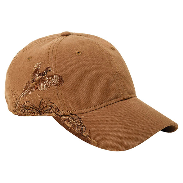 Dri Duck Pheasant In Flight Wildlife Cap