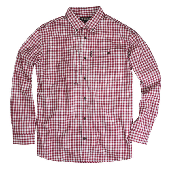 Dri Duck Brookside Plaid Long Sleeve Shirt