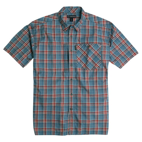 Dri Duck Hometown Plaid Short Sleeve Shirt