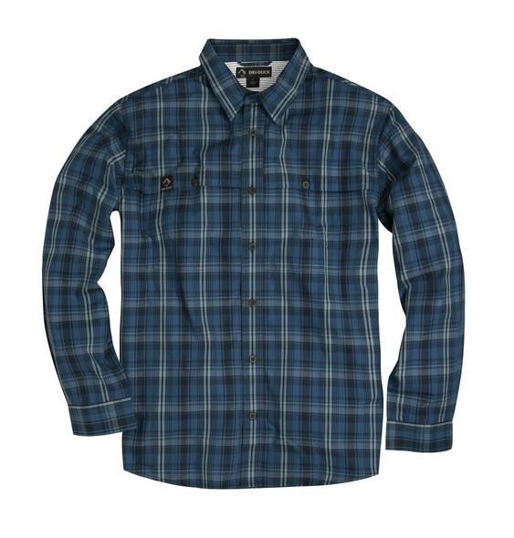 Dri Duck Gillham Plaid Long Sleeve Shirt