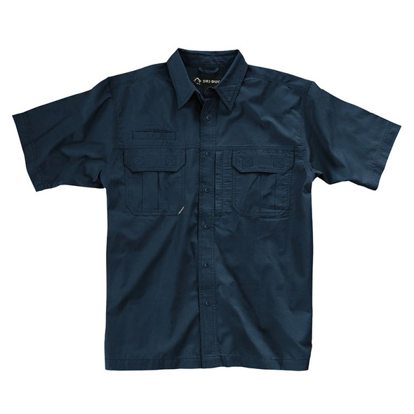Dri Duck Utility Short Sleeve Work Shirt