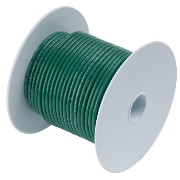 Ancor Green 8 AWG Battery Cable - 100'
