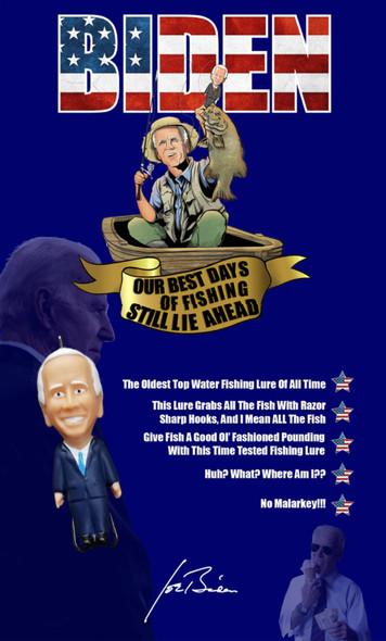Presidential Candidate Fishing Lure - Biden