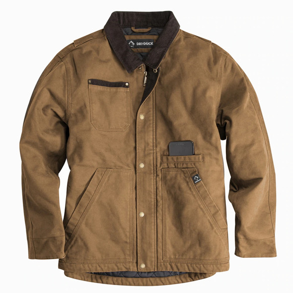 Dri Duck Rambler Canvas Chore Jacket