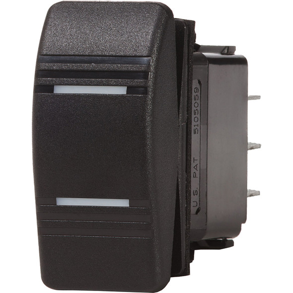 Blue Sea 8286 Water Resistant Contura III Switch - Black