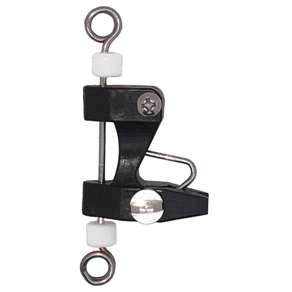 Generic Black Downrigger / Kite / Outrigger Release Clip with Snap