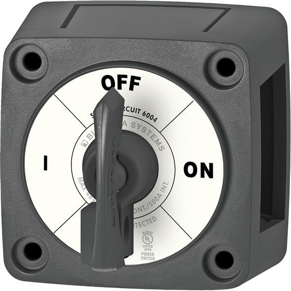 Blue Sea 6004200 Single Circuit ON-OFF w/Locking Key - Black