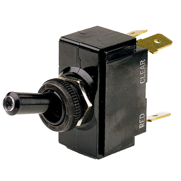 Cole Hersee Lighted Tip Toggle Switch SPDT On-Off-On 5 Blade