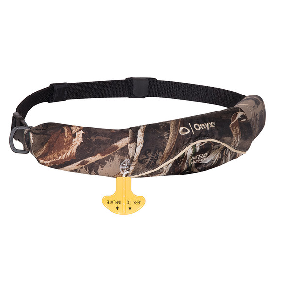 Onyx M-16 Manual Inflatable Belt Pack - Camo