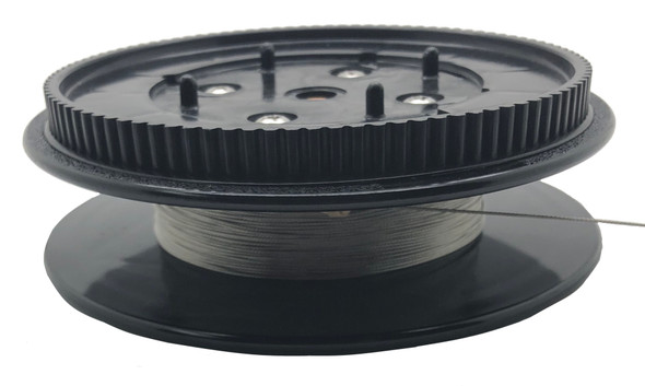 Scotty Downrigger Part - S-SPOOLELEC - ELECTRIC DR SPOOL, 100 TOOTH GEAR W WIRE (S9234)